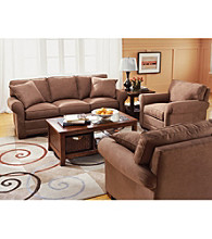 HM Richards Benson Khaki Microfiber Living Room Furniture Collection