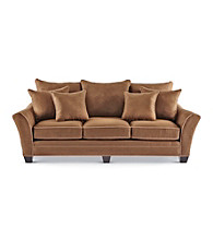 HM Richards Franklin Expresso Microfiber Living Room Furniture Collection