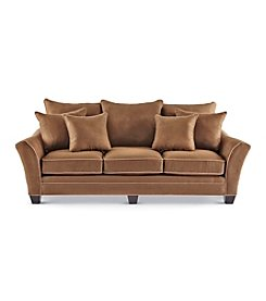 HM Richards Franklin Espresso Microfiber Sofa