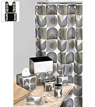 PB Home™ Retro Bath Collection - Silver