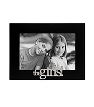 Malden Black Sentiment Frame - The Girls