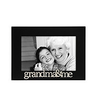 Malden Black Sentiment Frame - Grandma and Me