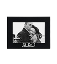 Malden Black Sentiment Frame - XOXO