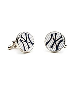MLB® New York Yankees Pinstripe Cufflinks