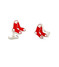 Silvertone Boston Red Sox Cufflinks