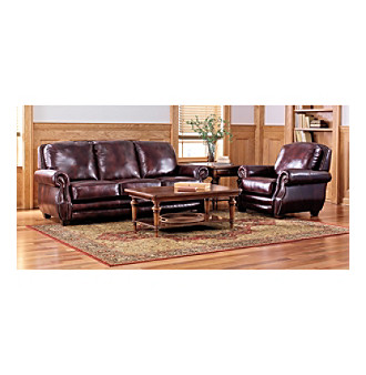 Lane westbury sofa recliner collection leather living for Westbury leather sofa
