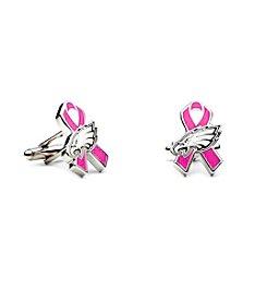 NFL® Philadelphia Eagles Breast Cancer Awareness Cufflinks