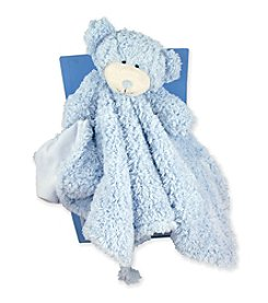 Stephan Baby Super Soft & Fluffy Plush Blankie -Blue
