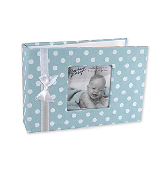 Stephan Baby Dot Photo Book - Blue