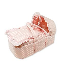 Stephan Baby Moses Basket - Pink