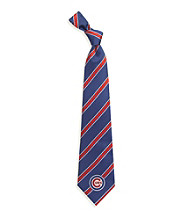 MLB® Chicago Cubs Men's Necktie - Logo Stripe