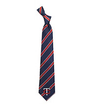 MLB® Minnesota Twins Men's Necktie - Logo Stripe