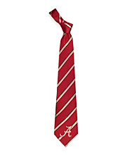 NCAA® University of Alabama Men's Necktie - Logo Stripe