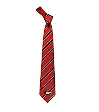 NCAA® University of Georgia Men's Necktie - Logo Stripe