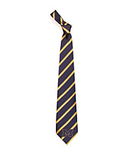 NCAA® University of Michigan Men's Necktie - Logo Stripe