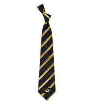 NCAA® University of Missouri Men's Necktie - Logo Stripe
