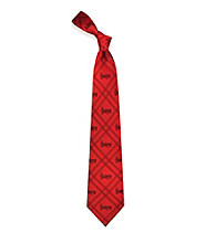 NCAA® University of Nebraska Men's Necktie - Logo Diamond