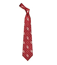 NCAA® Oklahoma University Men's Necktie - Logo Diamond