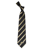 NCAA® Purdue University Men's Necktie - Logo Stripe