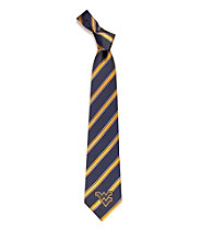 NCAA® West Virginia University Men's Necktie - Logo Stripe