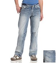 Guess Men's Desmond Jeans - Rank Wash