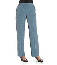Briggs New York® Flat-Front Pull-On Pants