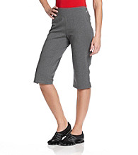Exertek® Wide-waistband Cropped Pant