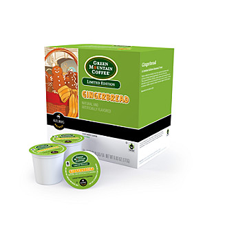 Green Mountain Coffee® Gingerbread Limited Edition 18-pk. K-Cup® Portion Pack