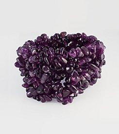 Effy® Amethyst Stone Stretch Bracelet