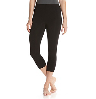 HUE® Capri Leggings - Black