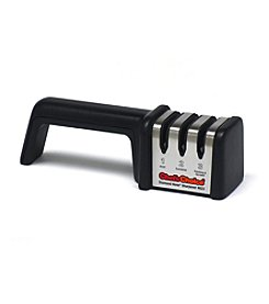 Chef'sChoice Black and Red Diamond Hone 3-Stage Manual Sharpener