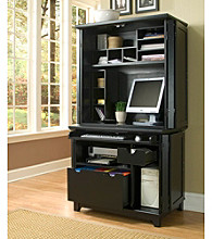Home Styles® Prairie Compact Computer Cabinet and Hutch - Cottage Oak