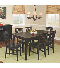 Home Styles® Prairie Ebony 7-pc. Dining Set