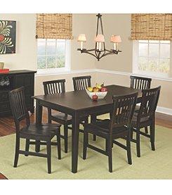 Home Styles® Prairie Ebony 7-pc. Dining Set