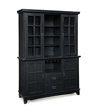 Home Styles® Prairie Dining Buffet and Hutch - Ebony