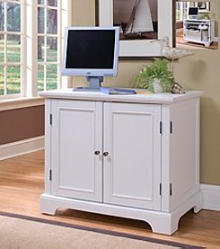 Home Styles® Boca Compact Computer Cabinet - White