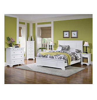 Home Styles® White Boca Bedroom Collection