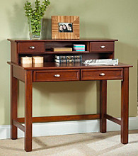 Home Styles® Cambridge Student Desk and Hutch - Cherry