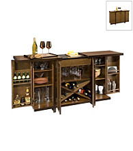 Home Styles® Hudson Bar Cabinet - Walnut