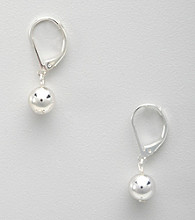 Lauren Ralph Lauren Silvertone Drop Earrings