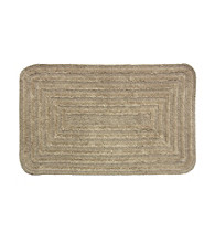 Bacova® Concentric Racetrack Reversible Cotton Bath Rug