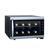Sunpentown® 8-Bottle Thermo-Electric Wine Cooler with Heating Technology