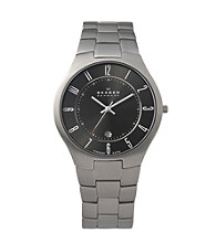 Skagen Denmark Men's Titanium Link Watch
