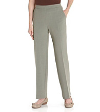 Briggs New York® Petites' Clean Front Pull-On Pants