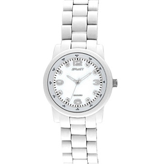 Sprout® White Friendly Link Watch