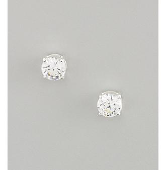 Lauren Ralph Lauren Large Cubic Zirconia Stud Earrings