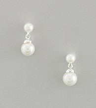 Lauren Ralph Lauren Faux Pearl Drop Earrings