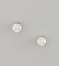 Lauren Ralph Lauren Medium Cubic Zirconia Stud Earrings