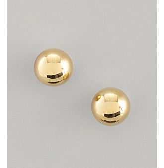 Lauren Ralph Lauren Medium Goldtone Stud Earrings