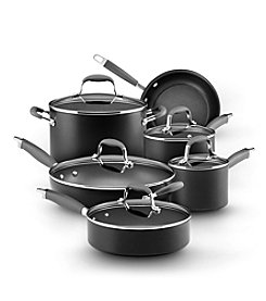 Anolon® Advanced 11-pc. Black Hard-Anodized Nonstick Cookware Set
